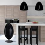 Ovetto nero in cucina