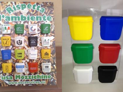 Mozzichino <P> The Customizable Portable Ashtray